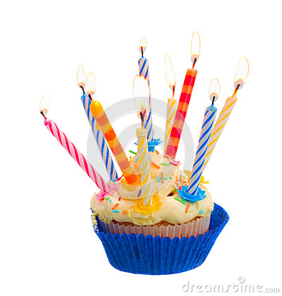 Birthday Cake With Candles Stock Photos Image 30591503
