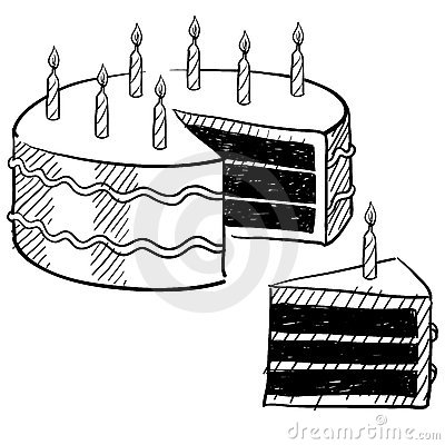 Cakes in color lessons tes teach birthday cake drawing royalty free stock images image 22499889 sciox Choice Image
