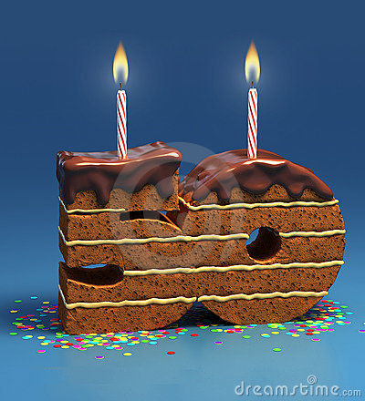 Birthday cake fiftieth birthday or anniversary