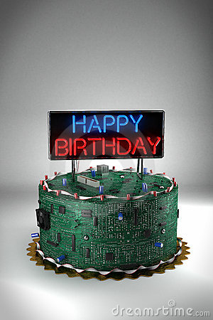 Birthday Cake for Geeks