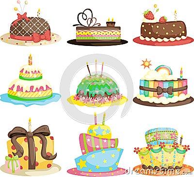 Free Birthday Cakes Royalty Free Stock Photo - 23451445