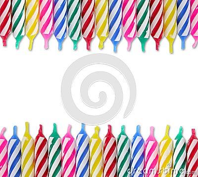 Free Birthday Candles Royalty Free Stock Photos - 16328858