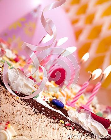 Free Birthday Candles Royalty Free Stock Photo - 731735