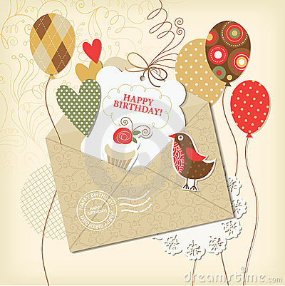 Free Birthday Card Stock Images - 23493344