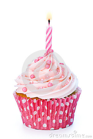 Free Birthday Cupcake Stock Photo - 13133780