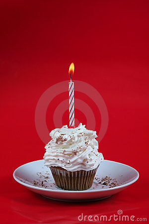 Free Birthday Cupcake Stock Photography - 1679662