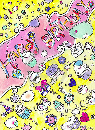 Birthday Cupcakes Card