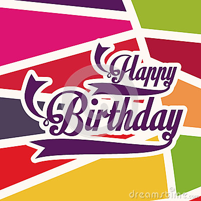 Free Birthday Design Royalty Free Stock Photos - 35760518