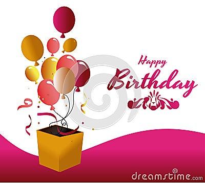 Free Birthday Design Royalty Free Stock Photography - 36512457