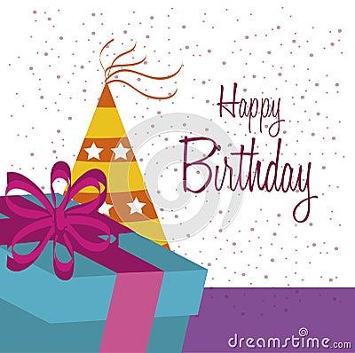 Free Birthday Design Stock Image - 36512641