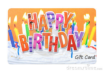 Birthday Gift Card gangcraftnet – Birthday Gift Cards