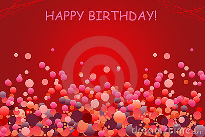 Birthday Greetings Card With Balloon Photo Image 13815080 – Pictures of Birthday Greetings