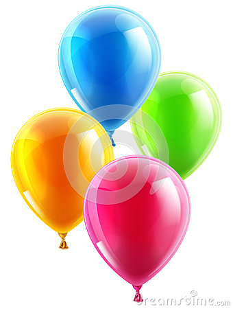 Free Birthday Or Party Balloons Stock Images - 39395984