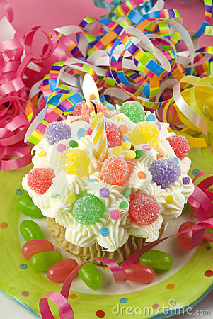 Birthday Party Cupcake