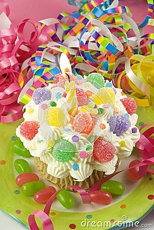 Birthday Party Cupcake