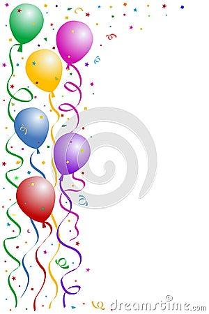 Free Birthday Party Frame Stock Photo - 1605910