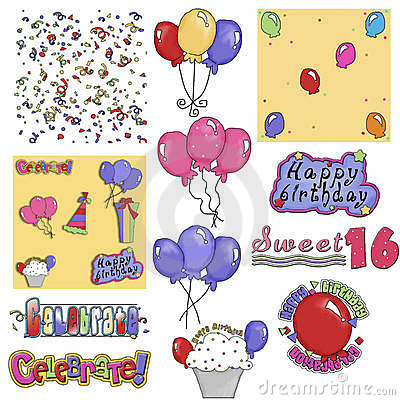 Birthday Party Graphics 2