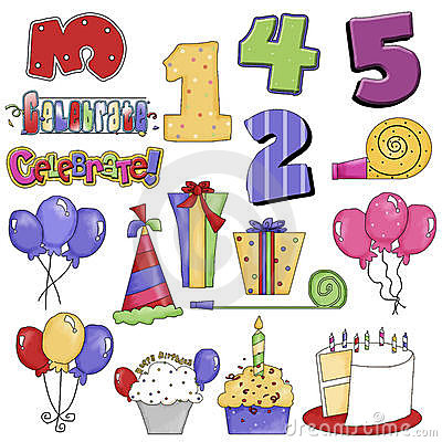 Birthday Party Graphics