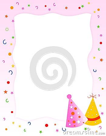 Birthday party invitation / greeting