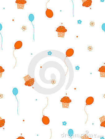 Free Birthday Pattern Stock Photography - 7903942