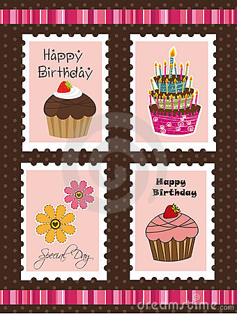 Birthday postage