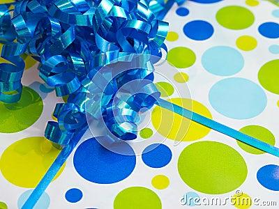 Birthday present background