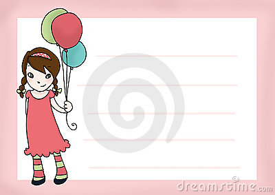 Birthday s girl card