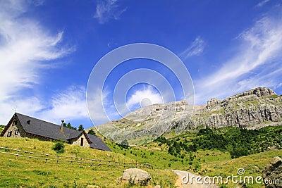 Bisaurin peak Lizara Aragues del Puerto mountain