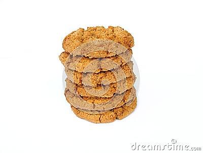 Biscoitos da porca do gengibre