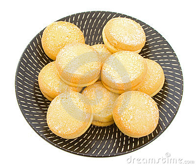 Biscoitos do Shortbread do io-io