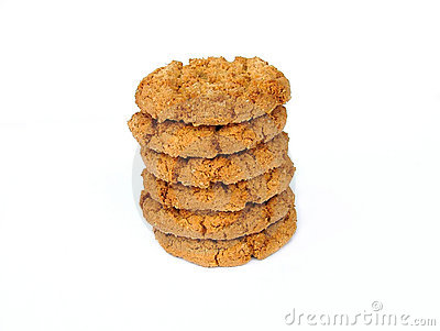 Biscotti della noce dello zenzero