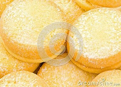 Biscotti dello Shortbread del yo-yo