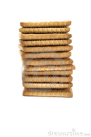 Free Biscuit Column Royalty Free Stock Images - 3992009