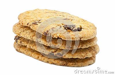 Biscuit with raisins