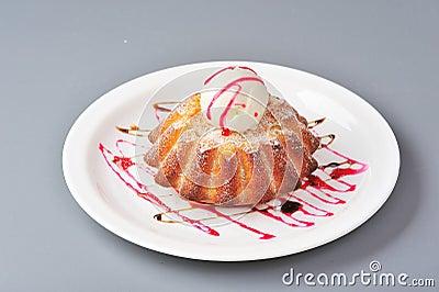 Biscuit tart