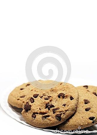Biscuits de puce de chocolat