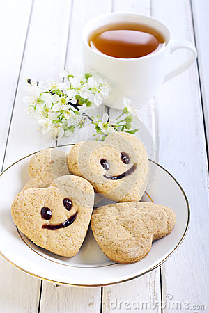 Biscuits with smile