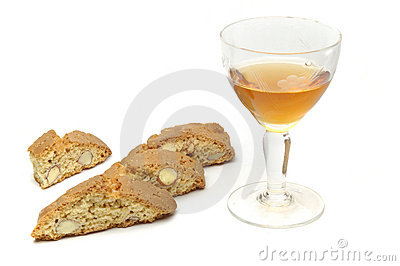 Biscuits And Vin Santo