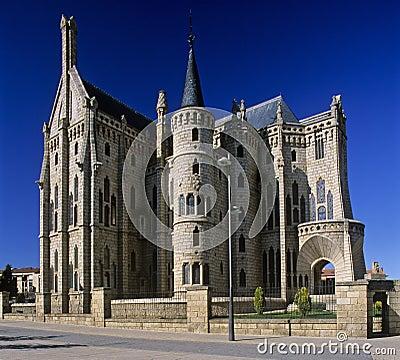 Free Bishop S Palace In Astorga 3 Royalty Free Stock Photography - 2620217