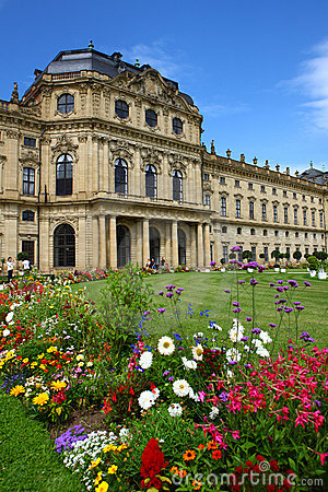 Free Bishop S Palace In Würzburg,germany 2011 Stock Image - 21506101