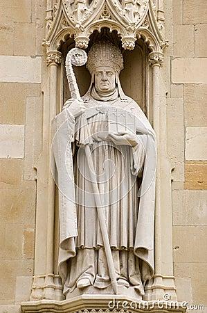 Bishop William Waynflete statue, Eton