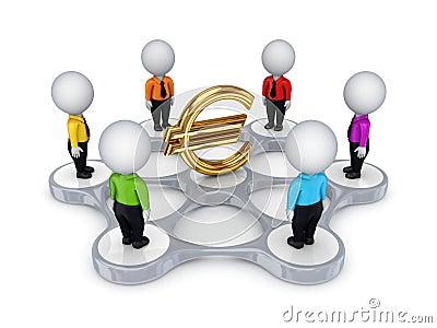 Bisiness network concept.