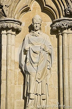 Biskop Brithwold, Salisbury domkyrka