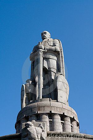 Free Bismarck Monument Royalty Free Stock Photography - 4674757