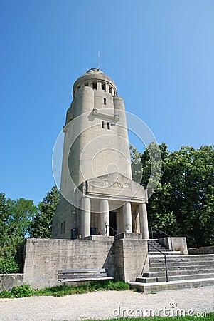 Bismarck Tower in Konstanz.