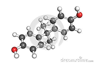 Bisphenol A structure