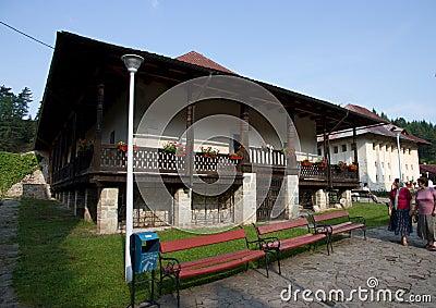 Bistrita Monastery Editorial Image