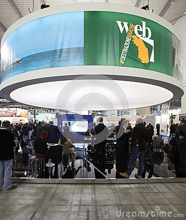 BIT 2013, International Tourism Exchange Editorial Stock Photo