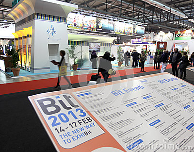 BIT 2013, International Tourism Exchange Editorial Stock Image