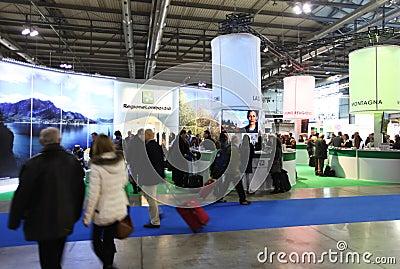 BIT 2013, International Tourism Exchange Editorial Stock Photo